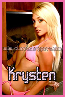 Blonde Stripper Krysten